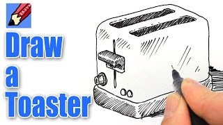 How to draw a Toaster Real Easy