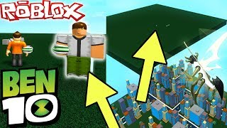 BEN 10 *SECRET LOCATION* IN ROBLOX (Ben 10 Arrival Of Aliens)