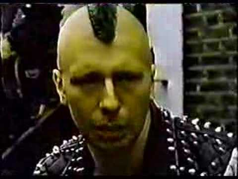 1983 Islington Squatter Punk Documentary
