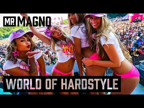 World of Hardstyle   Decibel 2016   Warm-up mix by Mr. Magno
