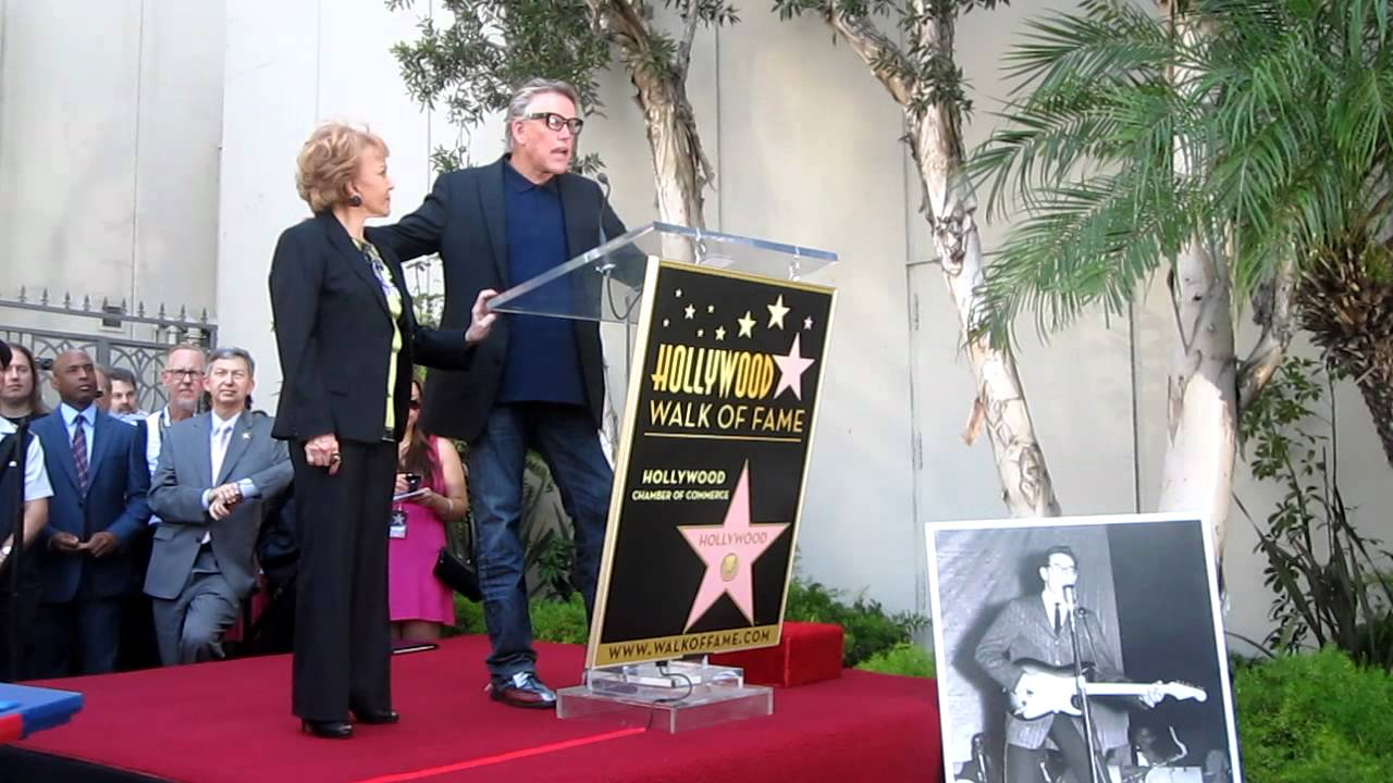Buddy Holly - Hollywood Walk of Fame Star Unveiling - Gary ...