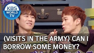 (Comes to visit in the army) Can I borrow some money? [Happy Together/2020.02.13]