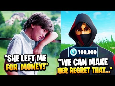 8 Year Old LOST His GIRLFRIEND To A Rich Kid, So We Confronted Her... (Fortnite)