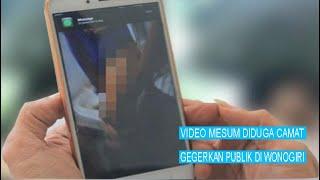 Geger!, Camat Karangtengah, Unggah Video Mesum di Story WA, diduga Gaptek #iNSulteng