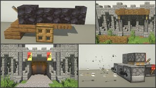 Minecraft: 25+ Castle Build Hacks and Ideas
