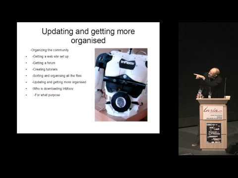 Gael Langevin // Inmoov project // Open source & Open hardware Robot