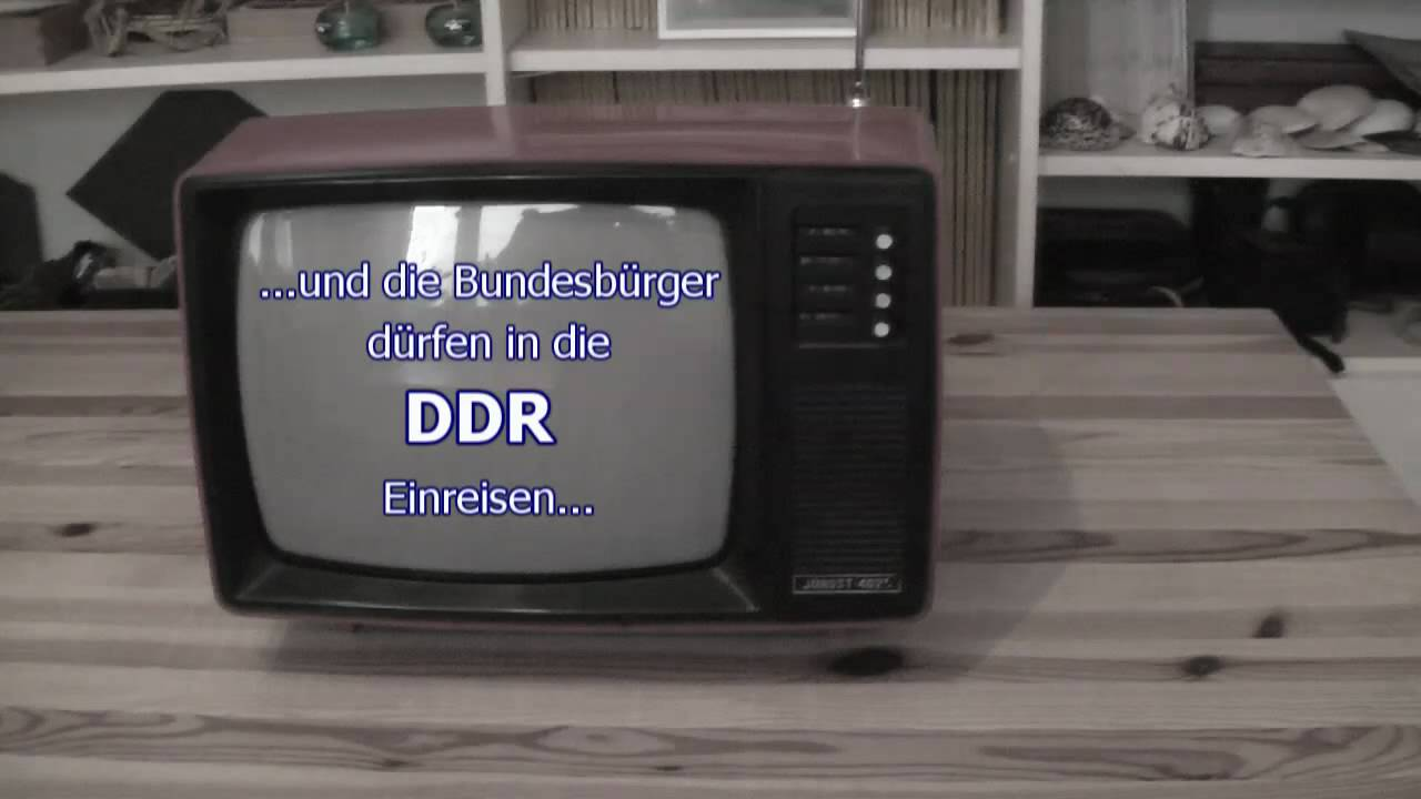 DDR Nachrichten 2010 Trailer, DDR Fernsehen - YouTube