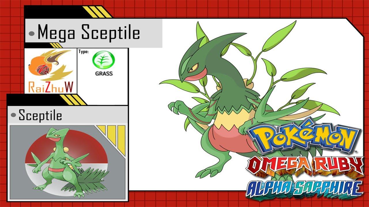Leaked Mega Evolutions Pokemon Omega Ruby And Alpha