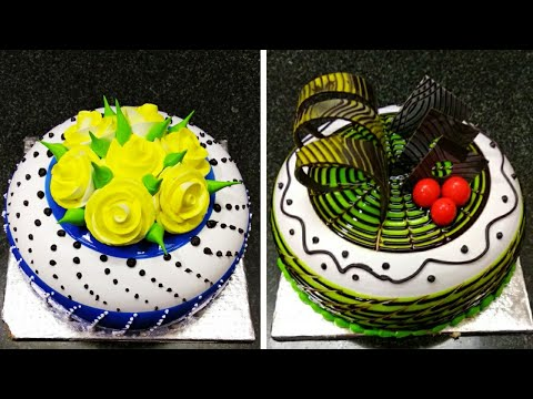 Top Amazing 12 Cake Decorations Tutorial Ideas Making By Sunil Cake Master Fancy Cake