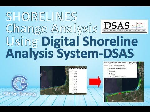 Shoreline Change Analysis Using Digital Shoreline Analysis System DSAS - USGS