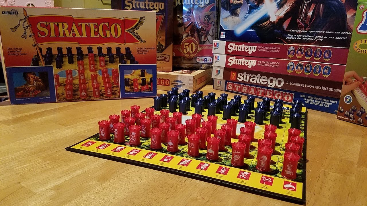 my stratego collection 1959 to present youtube