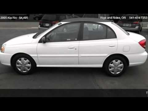 2005 kia rio sedan 4d for sale in grants pass or 97526 youtube. Black Bedroom Furniture Sets. Home Design Ideas