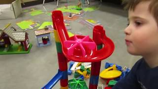 A Marble Run is a GREAT toy for kids! Using this toy, you can work ...