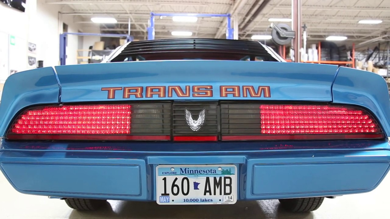 1979 1981 Trans Am Led Taillights Youtube