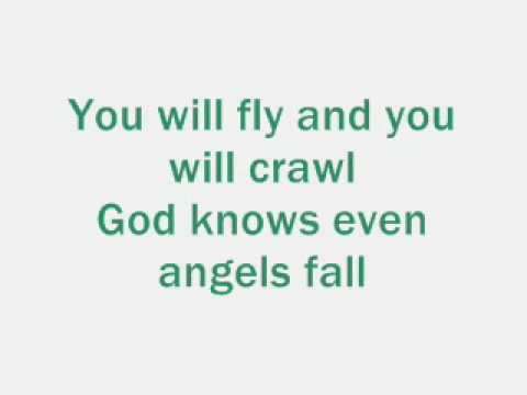 Jessica Riddle - Even angels fall (with lyrics)