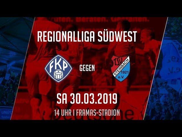 FK Pirmasens - TSV Steinbach Haiger 0:0 (Regionalliga Südwest 2018-19)