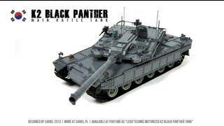 Lego Technic Motorized K2 Black Panther Tank