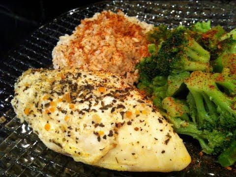 Bodybuilding Chicken Recipe Easy Citrus Chicken Youtube