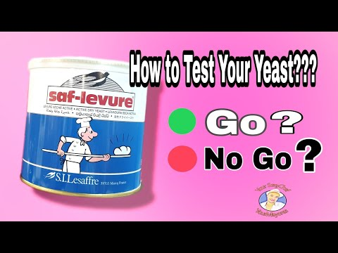 How To Use Saf-Levure Yeast || How To Test Yeast || YourMayores Your Sexychef || Sexy Tip 101