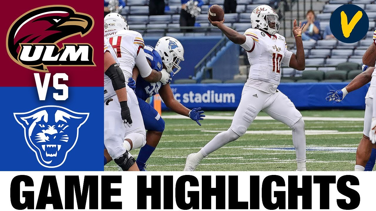 UL Monroe vs Georgia State Highlights | Week 10 2020 College Football Highlights