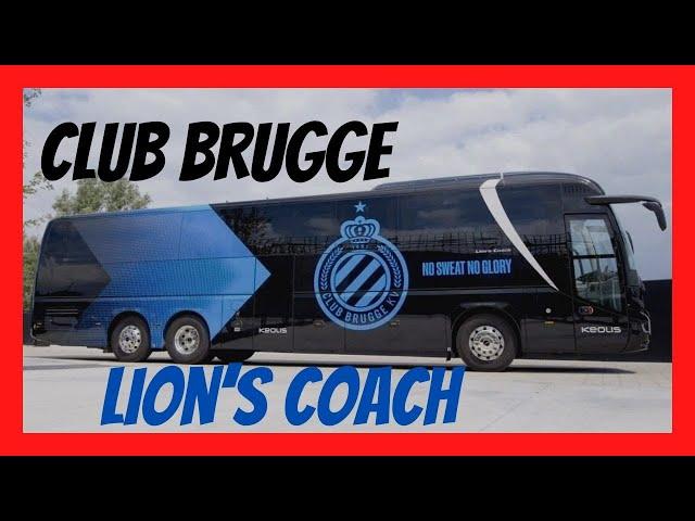O NOVO BUSÃO LIONS COACH DO CLUB BRUGGE - MTED