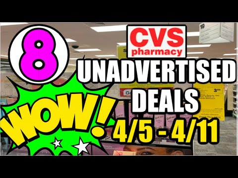 CVS UNADVERTISED DEALS (4/5 – 4/11) | New Printable Coupons
