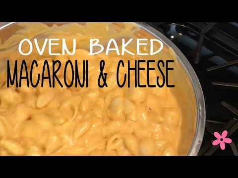 Cook With Me - CHEESY Deliciousness - Baked Macaroni & Cheese W/Breadcrumb Topping (Creamette Mod)