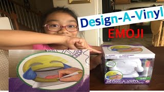 Emoji Design A Vinyl Art box package