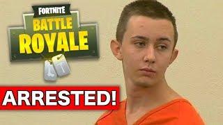 Fortnite player gets ARRESTED for Trash-Talking??