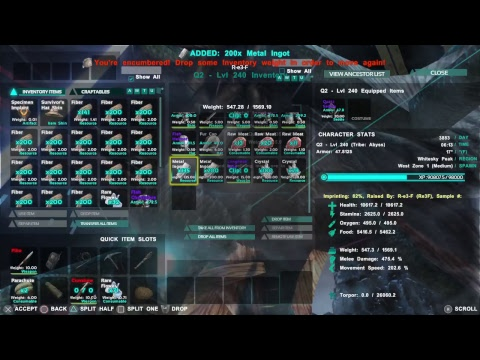 Ark:Survival Evolved - Raw Gameplay 225