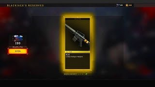 "BLACK OPS 4 ""ULTRA WEAPON BRIBE"" & 100 RESERVES LIVE OPENING 