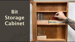 Bit Storage Cabinet