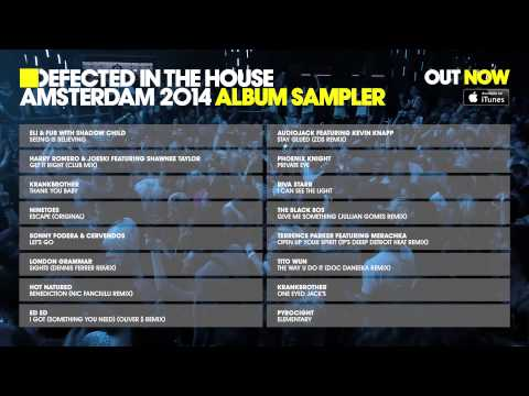 Defected In The House Amsterdam 2014 - Album Sampler
