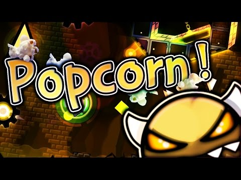 """Popcorn (Epic Demon) by Superopi & others — """"Geometry Dash"""""""