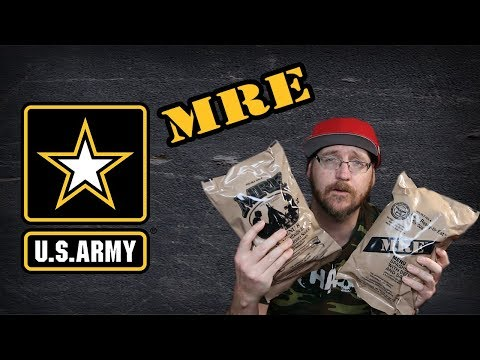 Whats Inside An Army MRE
