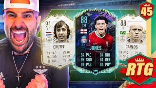 OMG MY NEW TEAM IS CRAZY INSANE! *GOAT CURTIS JONES* FIFA 21 RTG #45