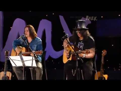 Fall to Pieces – Slash & Myles Kennedy – Rare Acoustic – MAX Sessions 2010 – Best Quality 480p