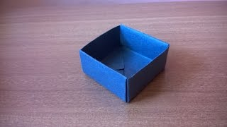 how to make a simple paper box | Step by Step Guide to Make a Paper Origami Box