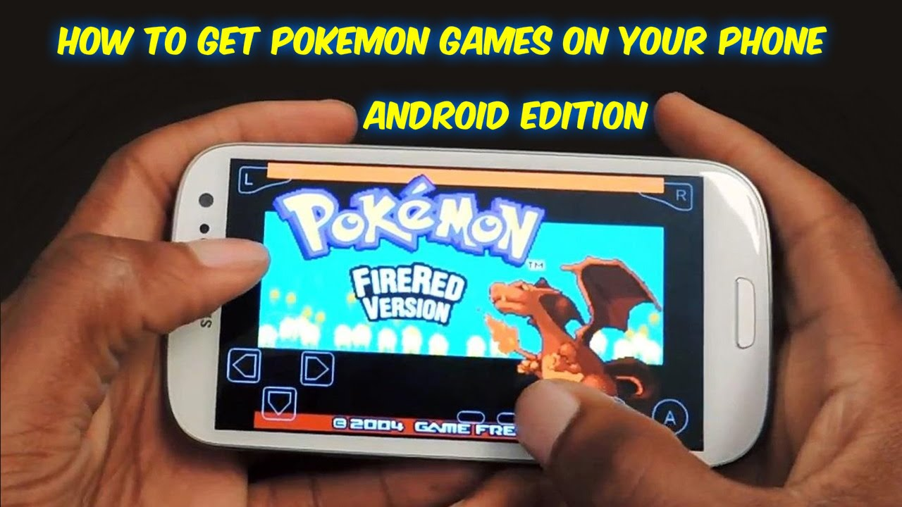 How To Get Pokemon Games On Android