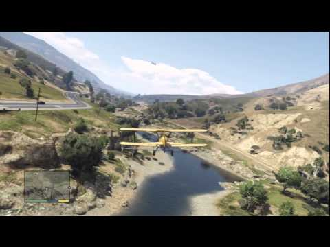 Grand Theft Auto V Gameplay: Trevor Hijacks A Merryweather Cargo Plane