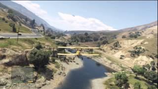 Grand Theft Auto V Gameplay: Trevor Hijacks A Merryweather Cargo Plane