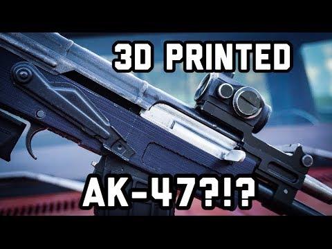 Can You 3D Print an AK-47?