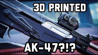 Können Sie 3D-Drucken eine AK-47?