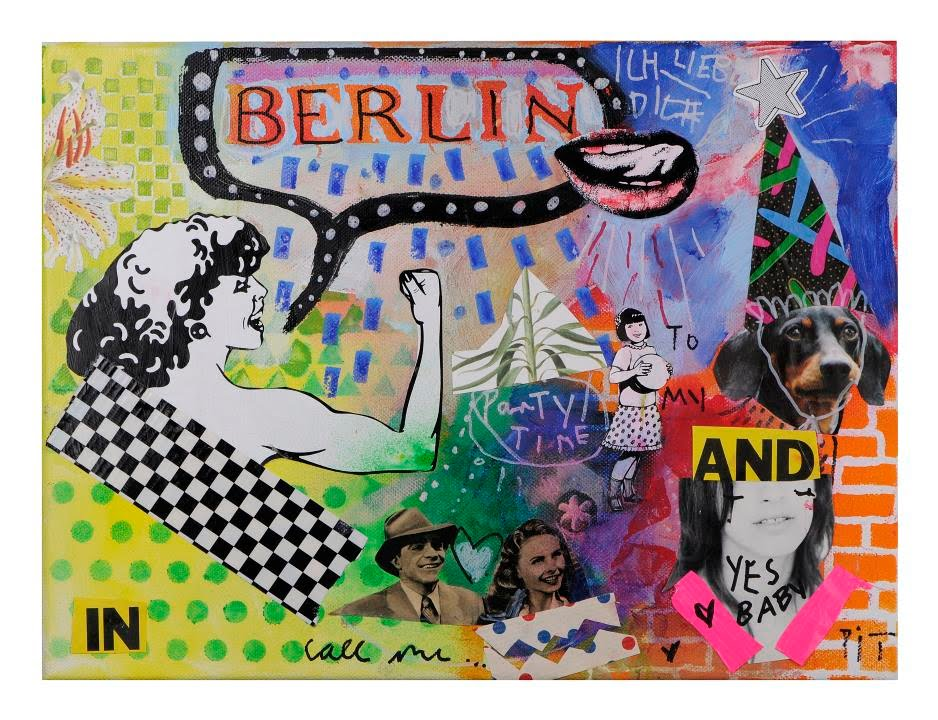 Speed Painting Anleitung Mixed Media Berlin By Marabu Youtube