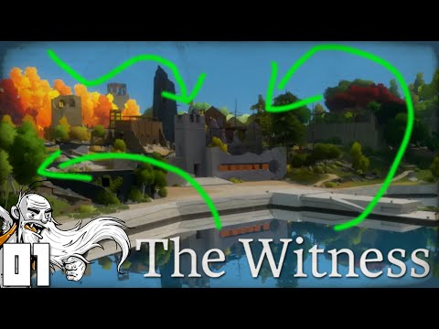 """GENNY THE PROFESSIONAL PUZZLE SOLVER!!!"" The Witness Part 1 - 1080p HD PC Gameplay Walkthrough"