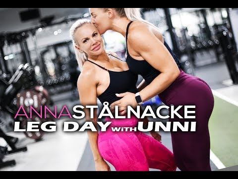Typical legday ala Anna & Unni