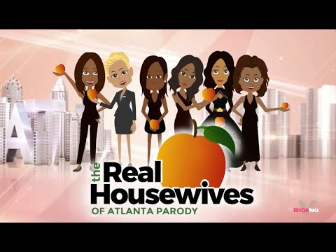The Real Housewives Of Atlanta Season 8 Cartoon Parody Youtube