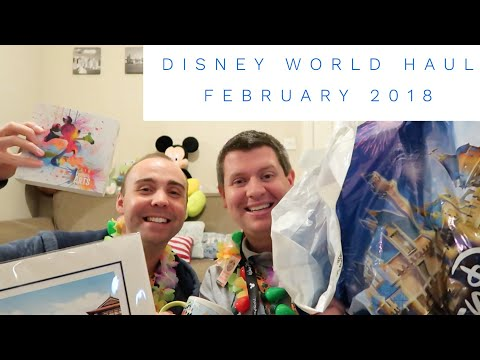 Walt Disney World Haul - February 2018 - Shopping Haul