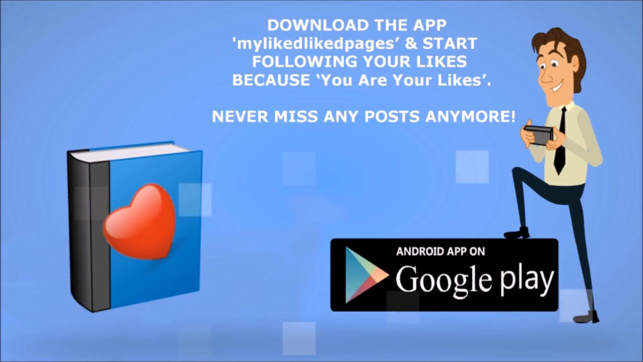 Liked facebook pages Manager app  My liked facebook page Manager App