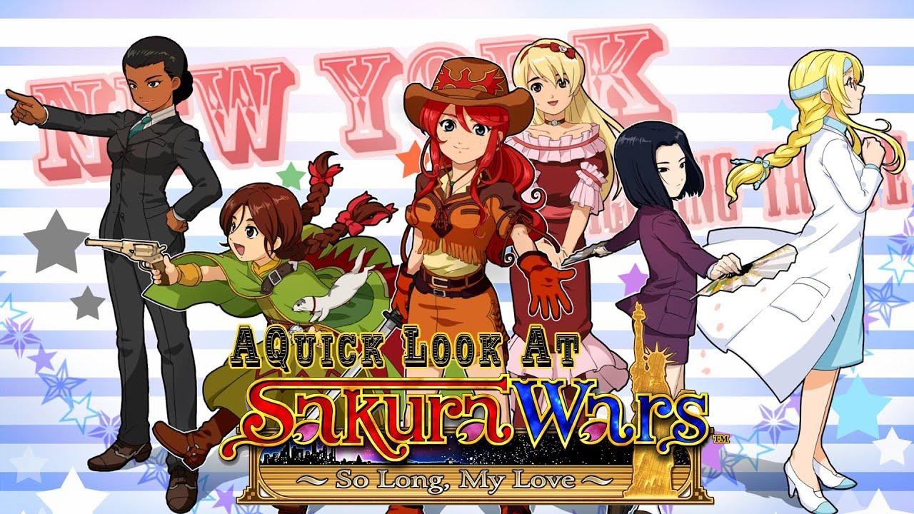 Kết quả hình ảnh cho Sakura Wars: So Long, My Love game